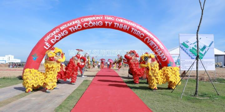 Dịch vụ tổ chức lễ khánh thành tại Thanh Hóa