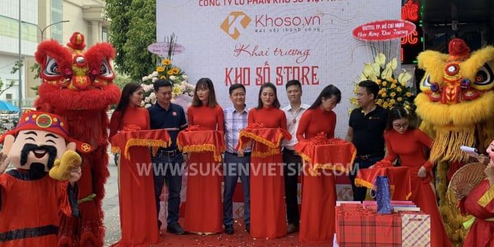 Tổ chức lễ khai trương giá rẻ tại Vĩnh Long