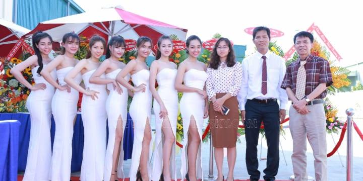 Tổ chức lễ khai trương giá rẻ tại Quảng Ngãi