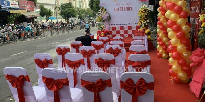 Tổ chức lễ khai trương giá rẻ tại Quảng Bình